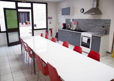 Accueil de jour Relience 82 à Montauban, salle commune pour les familles